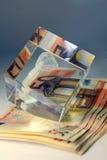 堆钞票50欧元 免版税图库摄影