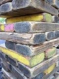 堆长方形森林 图库摄影