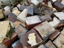 堆陶瓷工砖 免版税库存照片