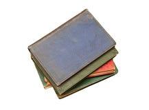 堆非常旧书 免版税图库摄影