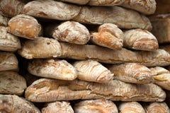 堆面包 库存照片
