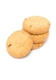 堆黄油曲奇饼。 免版税库存图片