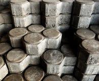 堆水泥砖 免版税库存图片