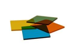 堆滤色器 库存照片