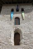 堡垒中世纪入口 免版税库存照片