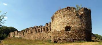 堡垒中世纪废墟 免版税库存照片