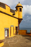 堡垒丰沙尔马德拉岛圣地tiago 免版税图库摄影