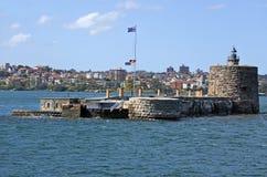 堡垒丹尼斯大学悉尼新南威尔斯澳大利亚 免版税库存图片