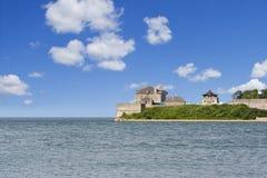 堡垒乔治有历史的国家尼亚加拉站点 免版税库存照片