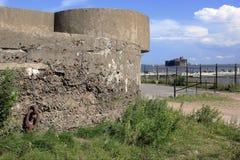 堡垒亚历山大(瘟疫堡垒)的看法从堡垒Constanti的 库存照片