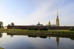 堡垒保罗・彼得・彼得斯堡俄国st 免版税库存照片