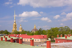 堡垒保罗・彼得 图库摄影