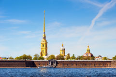 堡垒保罗・彼得・彼得斯堡俄国st 图库摄影
