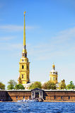 堡垒保罗・彼得・彼得斯堡俄国st 库存照片