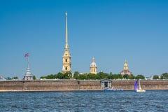 堡垒保罗・彼得・彼得斯堡俄国st 库存图片