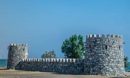 堡垒入口 免版税库存图片