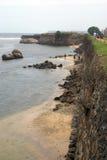堡垒加勒墙壁 免版税图库摄影