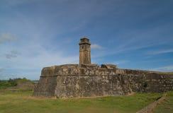 堡垒加勒斯里南卡 免版税库存图片