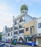 堡垒区Jumma清真寺在科伦坡 免版税图库摄影
