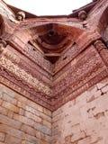 堡垒印度红色 免版税库存图片