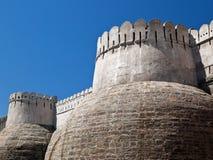 堡垒印度kumbhalgarh拉贾斯坦 免版税库存图片