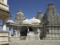 堡垒印度kumbhalgarth寺庙udaipur 图库摄影