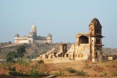 堡垒印度lakshmi老破庙 免版税图库摄影