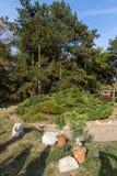 堡垒和公园里面看法在Nis城市,塞尔维亚 图库摄影