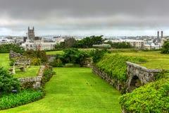 堡垒哈密尔顿,百慕大 库存图片
