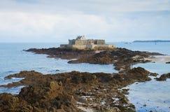 堡垒国民,圣徒Malo,布里坦尼,法国 库存照片