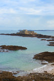 堡垒国民,圣徒Malo,布里坦尼,法国 库存图片