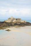堡垒国民,圣Malo,布里坦尼,法国 库存照片