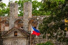 堡垒圣佩德罗火山在宿务,菲律宾 库存照片