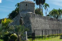 堡垒圣佩德罗火山宿雾 库存图片