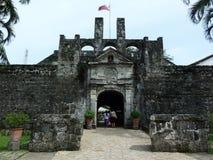 堡垒圣佩德罗火山 免版税库存图片