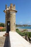 堡垒圣卡洛斯Borromeo,潘帕塔尔,玛格丽塔岛 库存图片