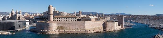 堡垒圣徒吉恩马赛 免版税库存照片