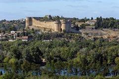 堡垒圣徒安德烈-维伦纽夫列斯阿维尼翁-法国 免版税库存照片