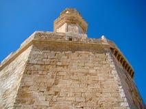 堡垒圣徒尼古拉斯, Ciutadella, Menorca 免版税库存照片