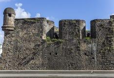 堡垒圣路易在堡垒de法国,马提尼克岛 图库摄影