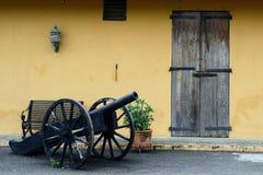 堡垒圣路易斯在圣地亚哥de los Caballeros 库存照片