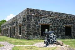 堡垒圣巴西廖, Fuerte de la Contaduria。 免版税库存图片