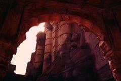 堡垒在乔德普尔城,拉贾斯坦 库存图片