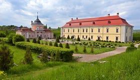 堡垒在利沃夫州 库存图片