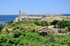 堡垒在哈瓦那,古巴 库存图片