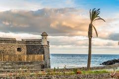 堡垒在圣克鲁斯de特内里费岛 免版税库存图片
