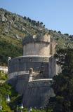 堡垒在地中海老镇 免版税库存图片