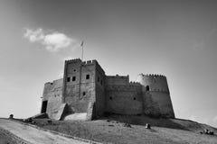 堡垒在富查伊拉阿拉伯联合酋长国 免版税图库摄影
