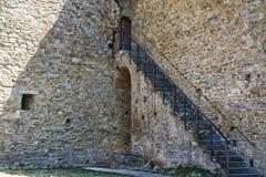 堡垒在意大利市卡斯蒂廖恩菲奥伦蒂诺 免版税库存图片