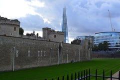 堡垒在英国 免版税图库摄影